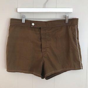 Vintage Catalina Mens Surf Swim Trunks Shorts W 36